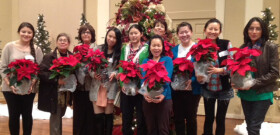 Intl Women's Christmas Party 2013