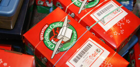 Weekday Ministries Operation Christmas Child 2012