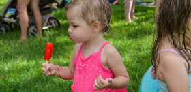 Preschool Popsicles on the Playground - 2014