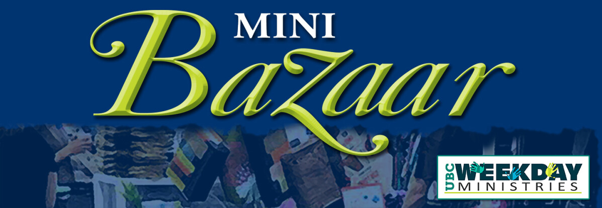Weekday Ministries Mini Bazaar