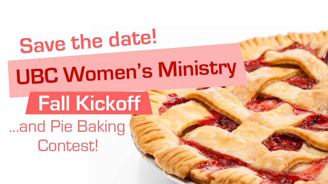UBC Women's Ministry Fall Kickoff
