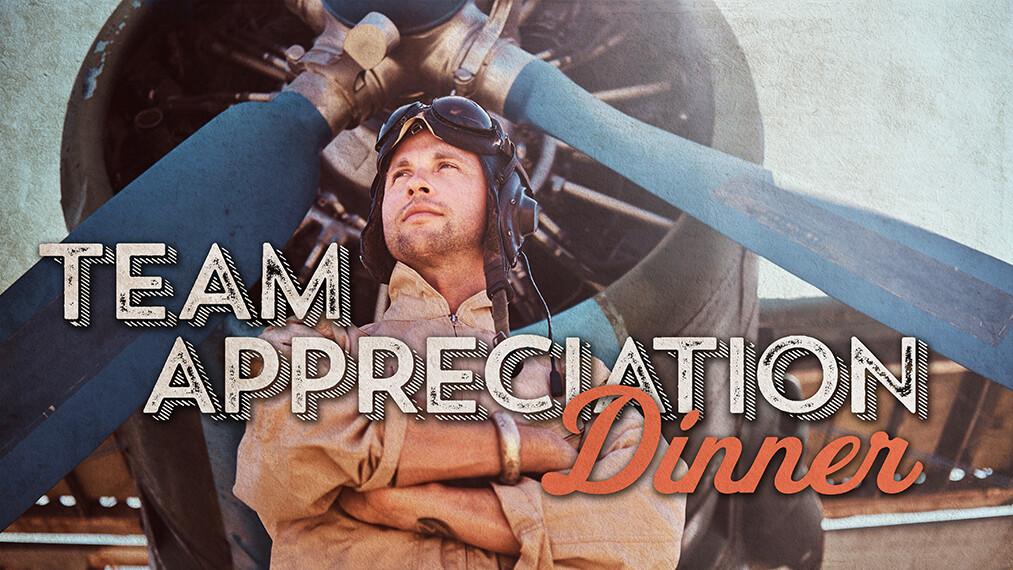 UBC Team Appreciation Dinner